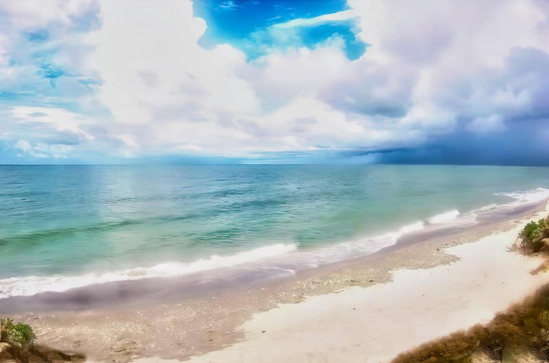 Sanibel Beach-gigapixel-scale-4_00x NIK's TC 800